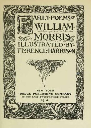 Early poems of William Morris