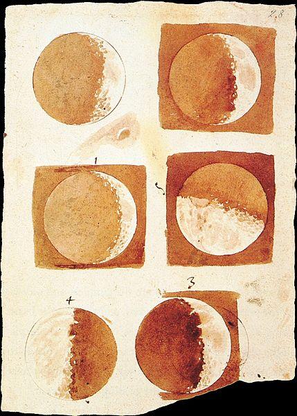 Galileo-Fases da lúa