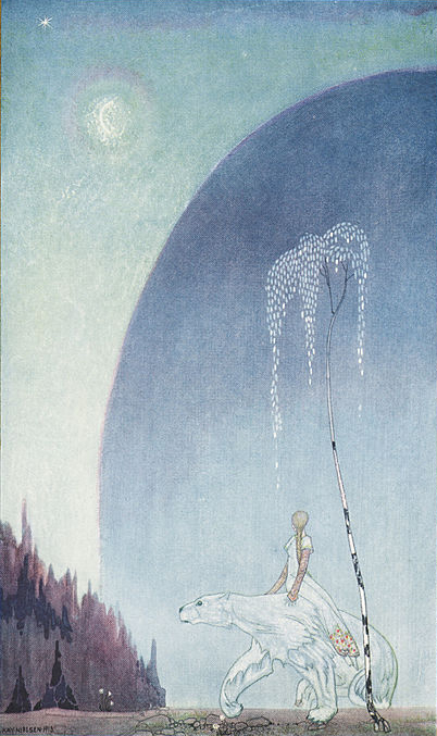 Ao leste do sol e ao oeste da lúa-Kay Nielsen