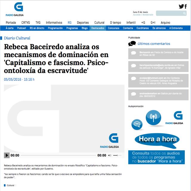 Entrevista a Rebeca Baceiredo